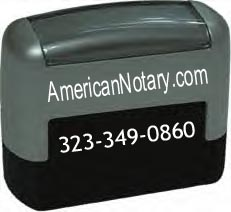 Notary Desk Stamp / Seal